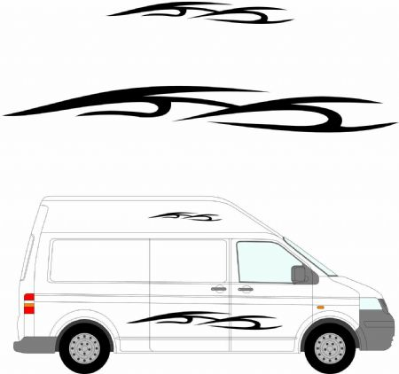 (No.146) MOTORHOME GRAPHICS STICKERS DECALS CAMPER VAN CARAVAN UNIVERSAL FITTING
